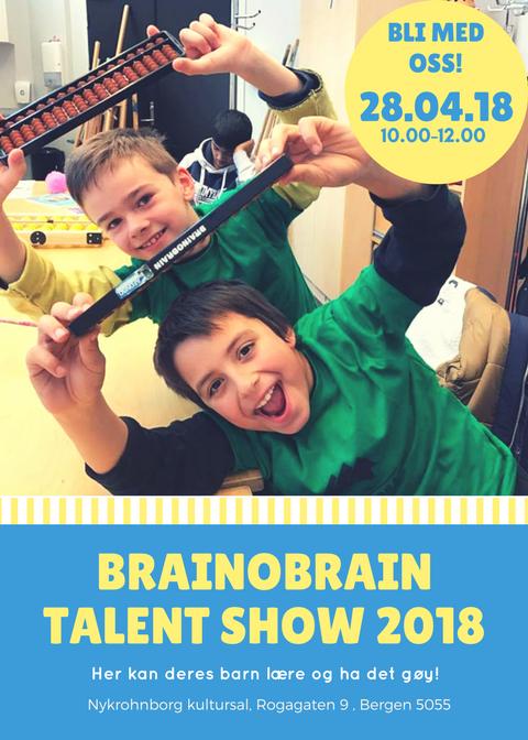 Brainobrain Talent show-2018!